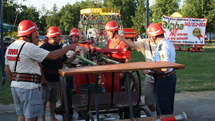 Natjecanje sa zaprežnim vatrogasnim špricama