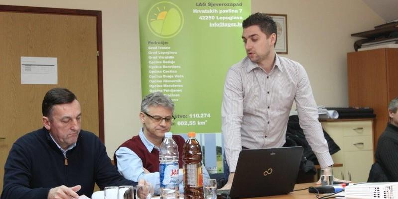 U Petrijancu održan partnerski odbor za izradu strategije LAG-a
