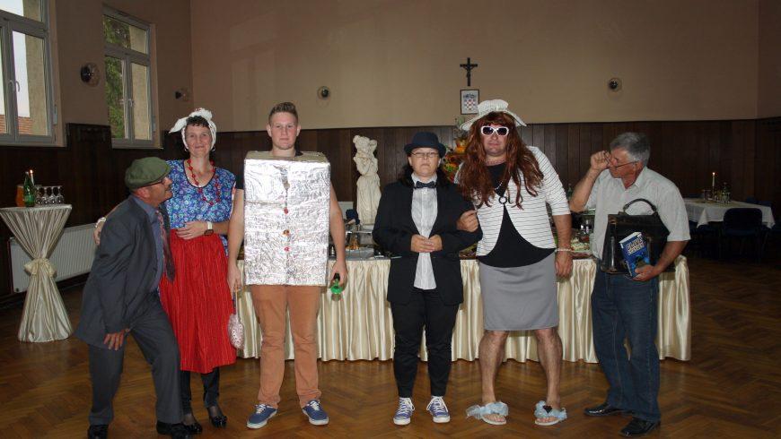 Poziv na večer smijeha u izvedbi glumaca amatera Kud-a Općine Petrijanec