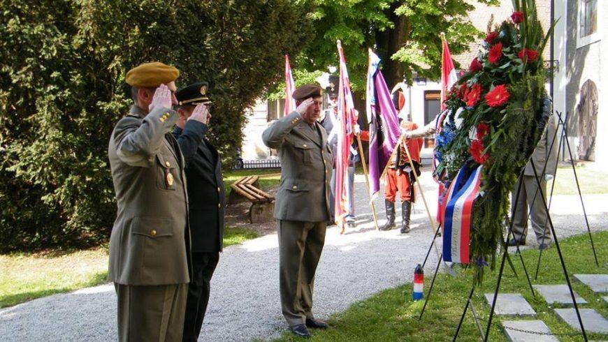 UDVDR Petrijanec na obilježavanju osnutka 104. brigade ZNG RH