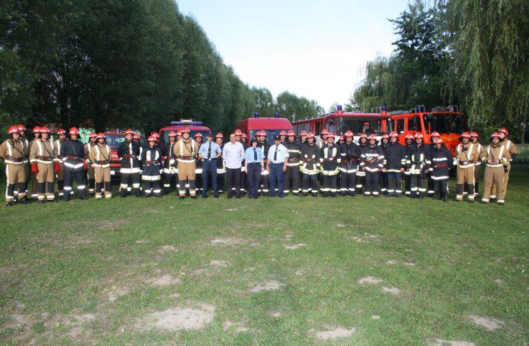 Javna pokazna vatrogasna vježba u Družbincu
