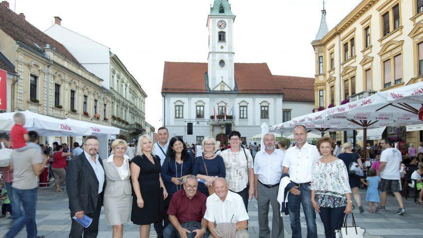 Slovenski župani (gradonačelnici i načelnici općina ) gosti petrijanečkog načelnika