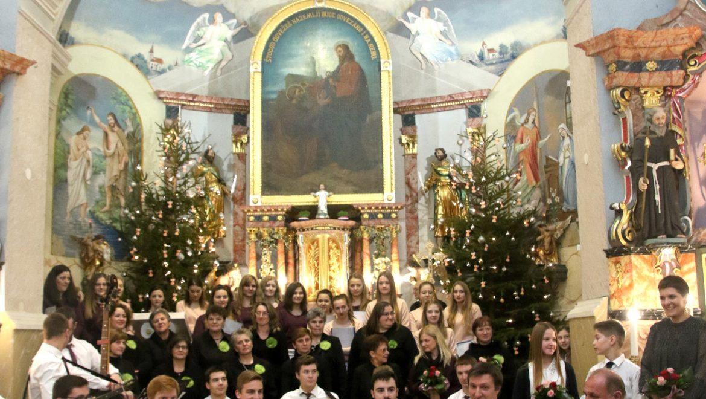 Božićni koncert u Petrijancu