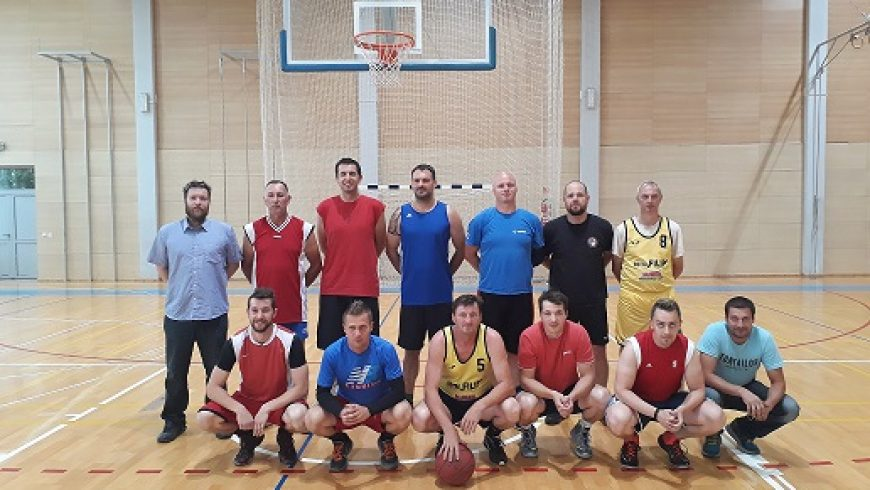 "Revijalna košarkaška utakmica ""Stari"" – ""Mladi"""