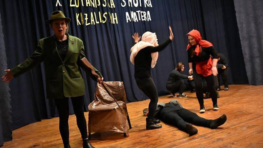 Održana 10. Županijska smotra kazališnih amatera Varaždinske županije