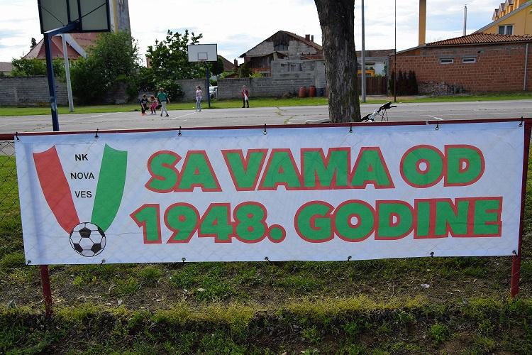 Nogometni klub Nova Ves 70. godišnjica kluba – prijateljska utakmica s prvoligašem