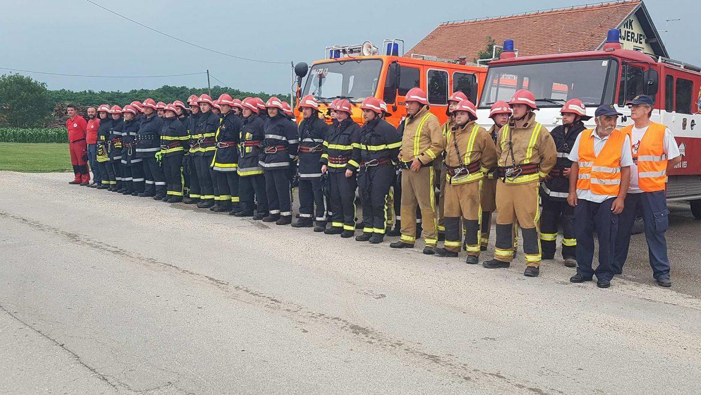 Vatrogasnom vježbom započeli Dani Općine Petrijanec