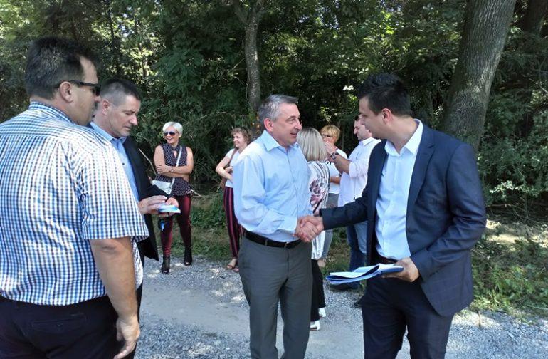 """Sustav odvodnje i pročišćavanja otpadnih voda """"Aglomeracija"""" započela i u našoj općini"""