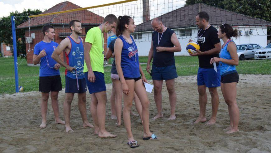 1. Rekreativni turnir u odbojci na pijesku održan u Novoj Vesi