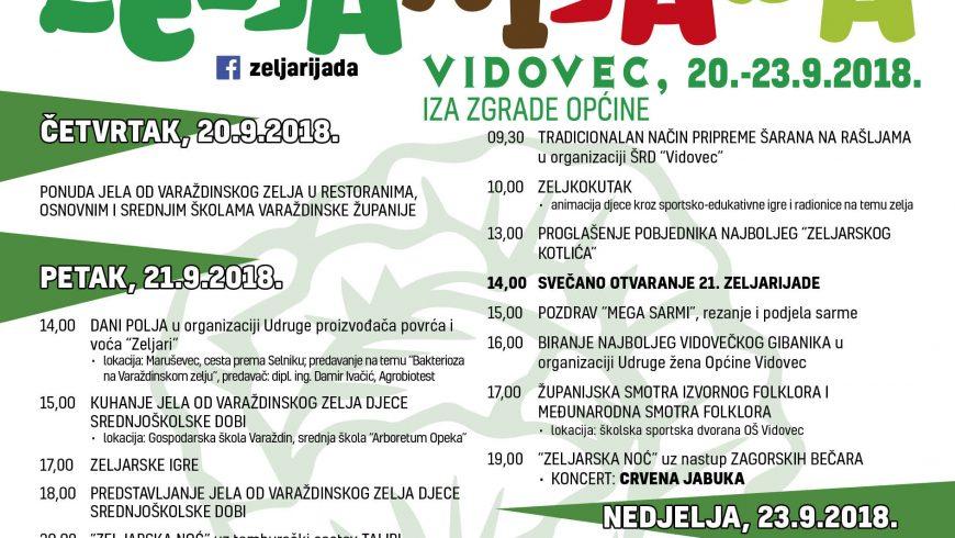 """Općina Petrijanec – partner 21. Zeljerijadi poziva na """"Dane polja"""""""