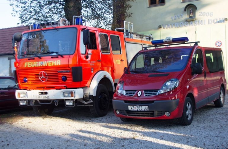 Dobrovoljna vatrogasna društva općine