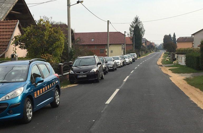 Rekonstrukcija ceste u Strmcu Podravskom u duljini od 1.8km