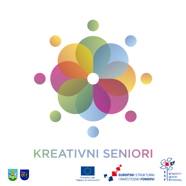 """Sudjelovanje u kulturno-kreativnim radionicama u okviru EU projekta """"Kreativni seniori"""""""