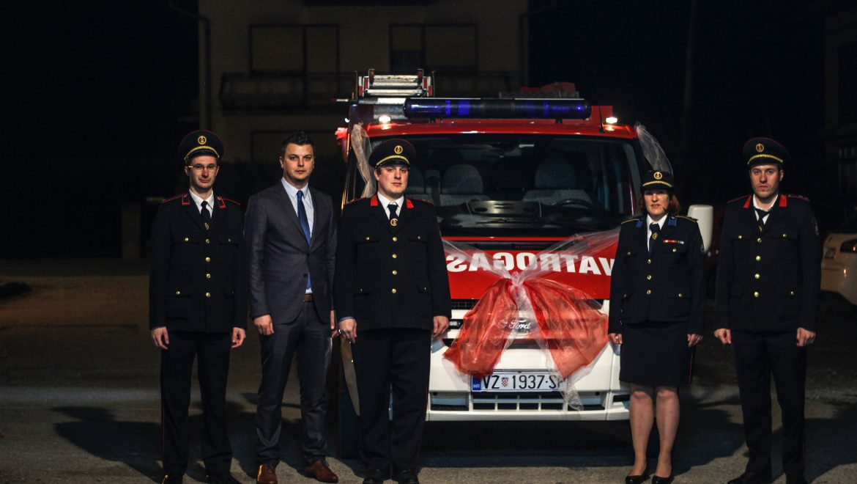 DVD-u Strmec Podravski novo vatrogasno vozilo
