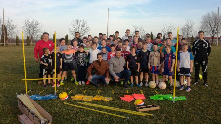 Donacija opreme ŽNS-a za nogometni centar Petrijanec – Nova Ves