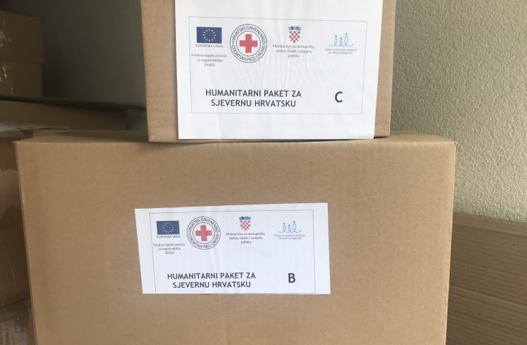 Podjela paketa humanitarne pomoći FEAD