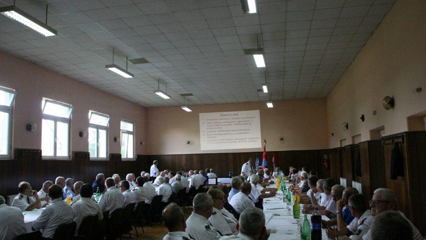 Izvještajna sjednica Skupštine Kluba vatrogasnih veterana Vatrogasne zajednice Varaždinske županije