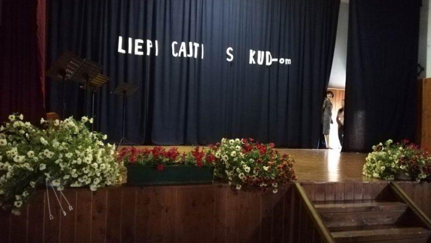 """U društvenom domu u Strmcu Podravskom održana je kulturna manifestacija """"Liepi cajti s KUD-om"""""""