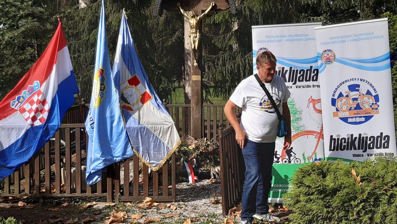 Održana 5. Biciklijada Vinica-Varaždinbreg sudionici biciklijade su se zaustavili u Zelendvoru i u Novoj Vesi