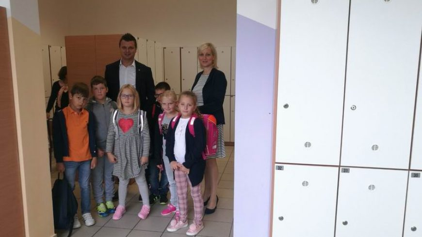Prvi dan škole u OŠ Petrijanec
