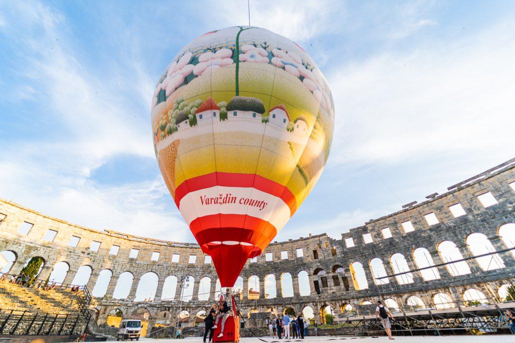 U četvrtak 5. rujna podizanje balona u Petrijancu
