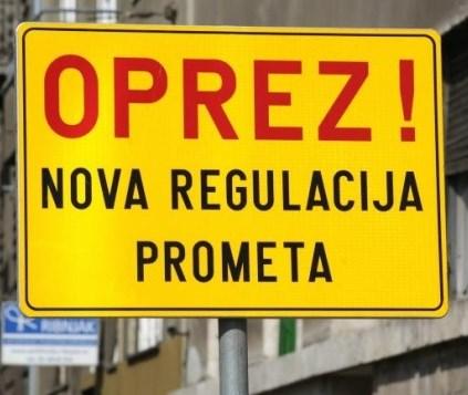 Nova regulacija prometa u dvorištu OŠ Petrijanec