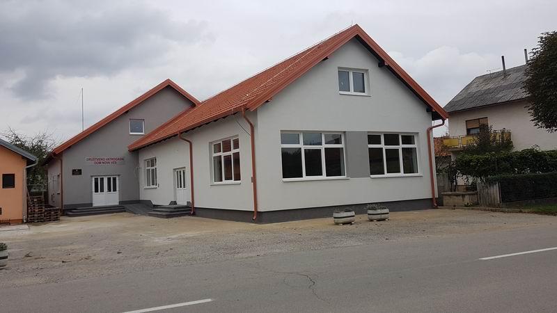 Energetska obnova zgrade Društvenog doma na adresi Ljudevita Gaja 1, Nova Ves Petrijanečka
