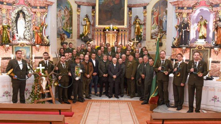 Povodom obilježavanja Svetog Huberta održana sveta misa – lovci proslavili svoj dan