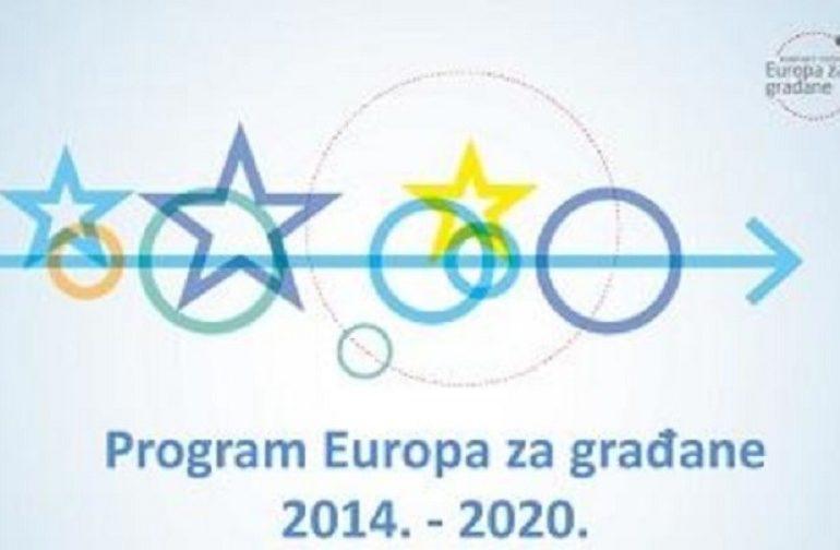 """U Petrijancu održana interaktivna kreativna radionica za potencijalne prijavitelje programa """"Europa za građane 2014-2020"""""""