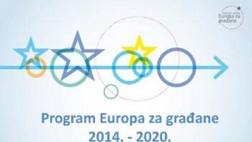 Interaktivna kreativna radionica za razvoj projektnih ideja programa Europa za građane 2014 -2020 u Petrijancu 24.veljače 2020