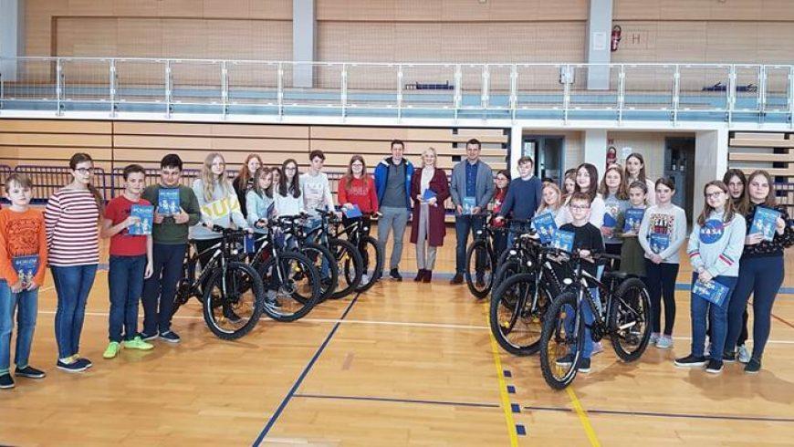 """30 učenika OŠ Petrijanec uključeno u projekt """"ŽELIM VOZITI BICIKL"""""""