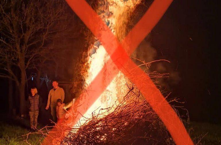 Na snazi i dalje zabrana javnog okupljanja, kao i priprema i paljenje vuzmenki!