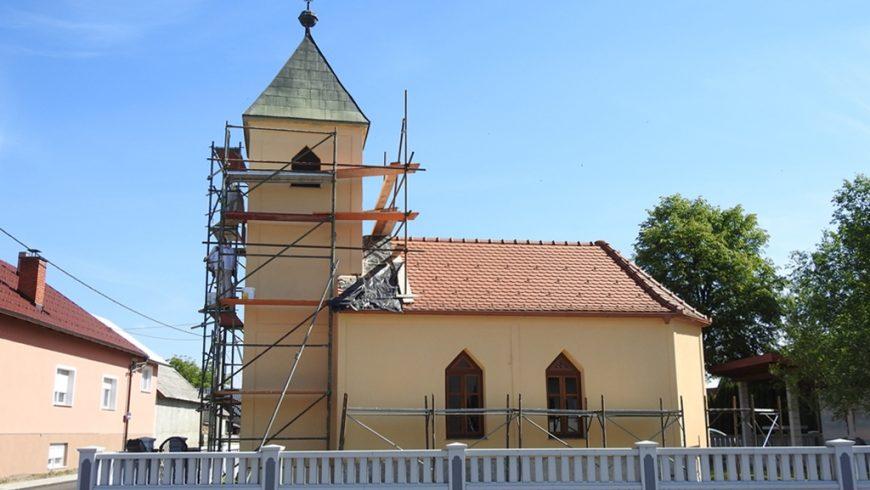 U Majerju se obnavlja stogodišnja kapelica Srca Isusova