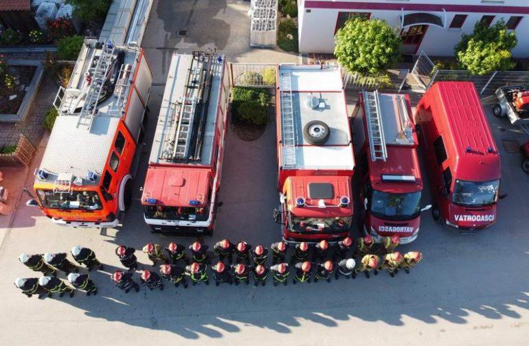 Održana javna vatrogasna vježba u općini Petrijanec