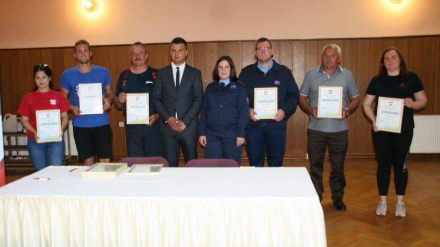 Prijem zahvale za sve volontere stožera civilne zaštite Općine Petrijanec tijekom korona pandemije
