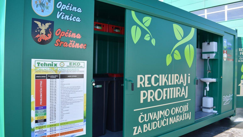 Raspored korištenja mobilnog reciklažnog dvorišta za mještane Općine Petrijanec