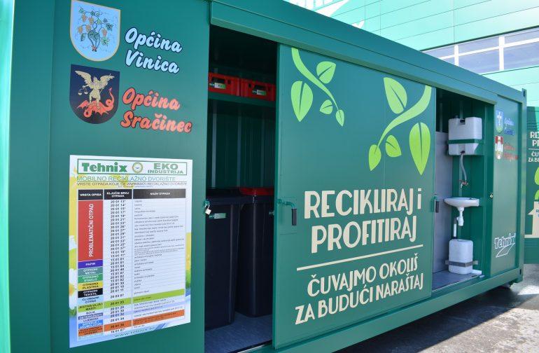 Raspored korištenja mobilnog reciklažnog dvorišta za mještane Općine Petrijanec – studeni