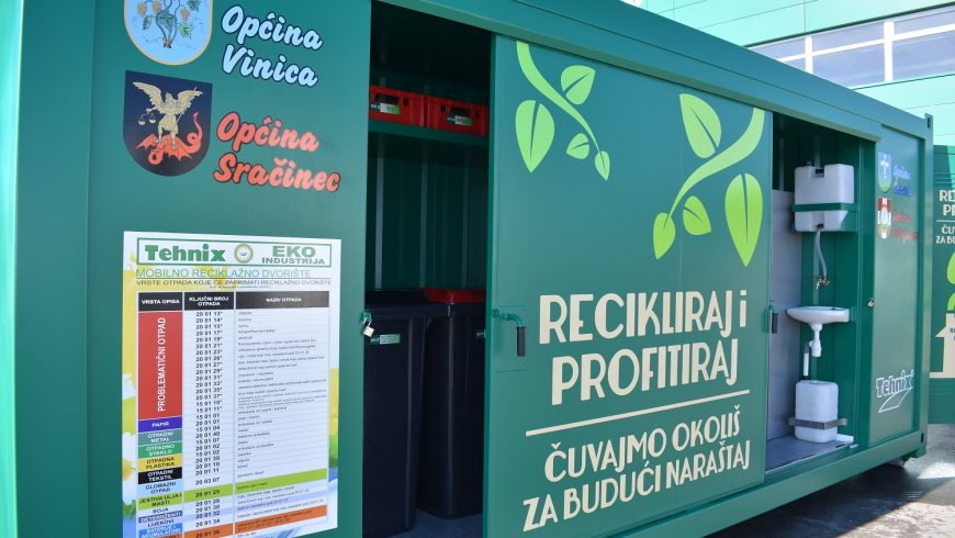 Raspored korištenja mobilnog reciklažnog dvorišta za mještane Općine Petrijanec – veljača 2021