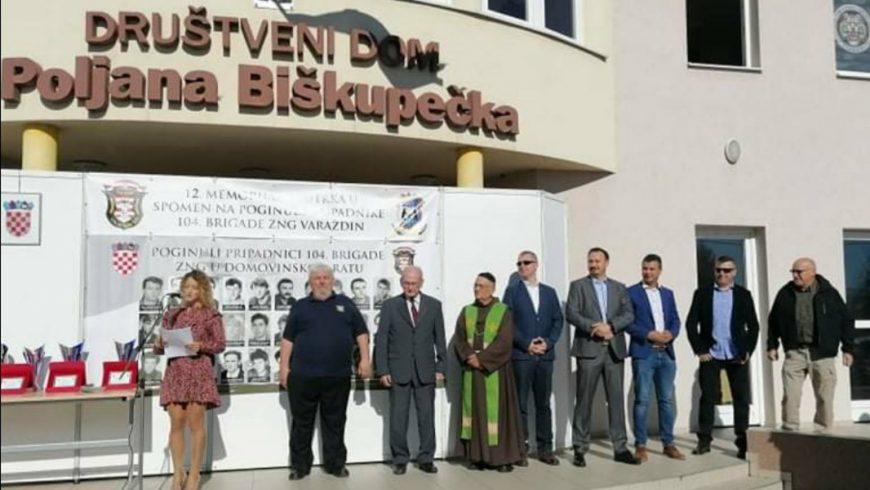 U Poljani Biškupečkoj utrka u spomen na poginule pripadnike 104. brigade ZNG-a
