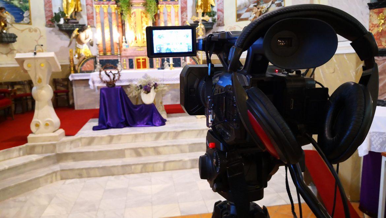 Online prijenos misnog slavlja iz župne crkve sv. Petra i Pavla u nedjelju 04.04.2021.g u 11:00 sati
