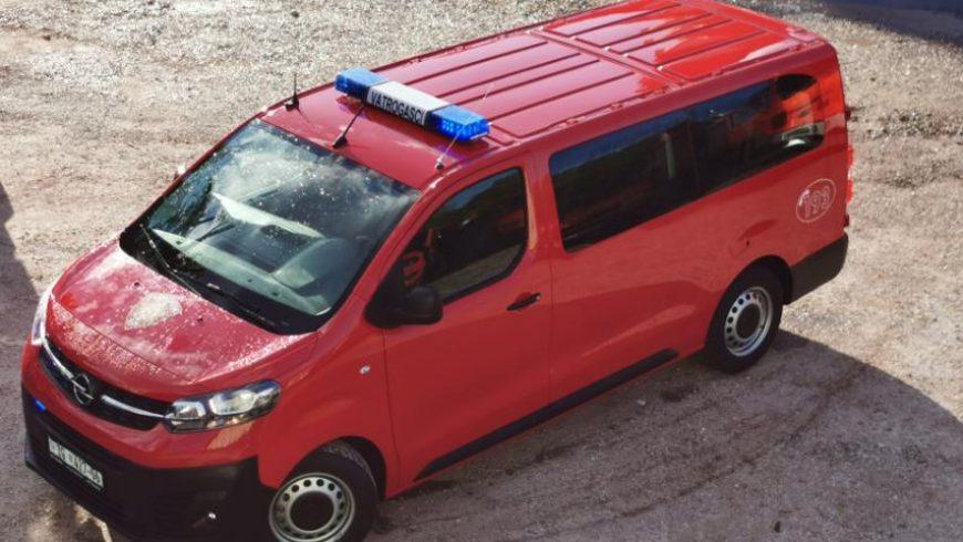 U DVD Petrijanec stiglo novo kombi vozilo od Hrvatske vatrogasne zajednice