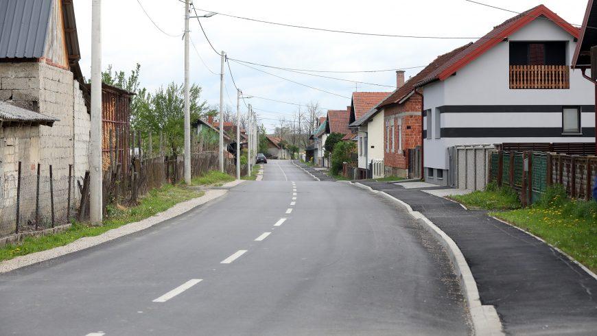 Rekonstruirana i obnovljena Radnička ulica u Majerju dužine 1038 metara