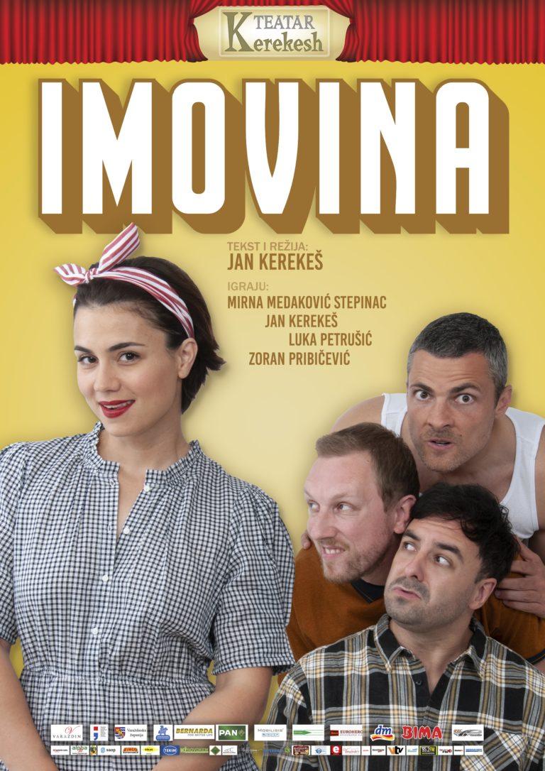Predstava Imovina Kerekesh Teatra u subotu 12.06.2021. u 20:30 sati